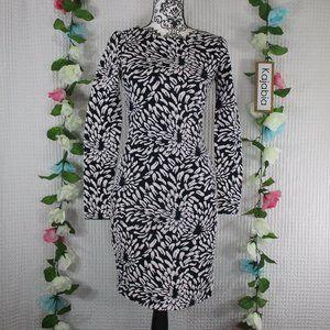 Belle BADGLEY MISCHKA Long Sleeve Dress Size 2